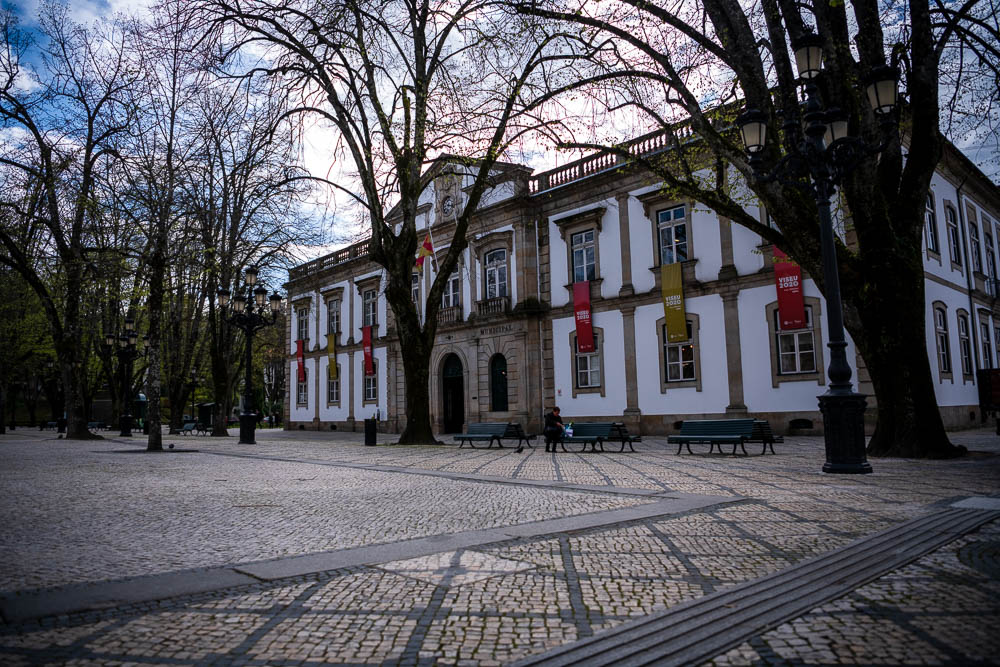 Rossio Viseu Camara municipal de Viseu