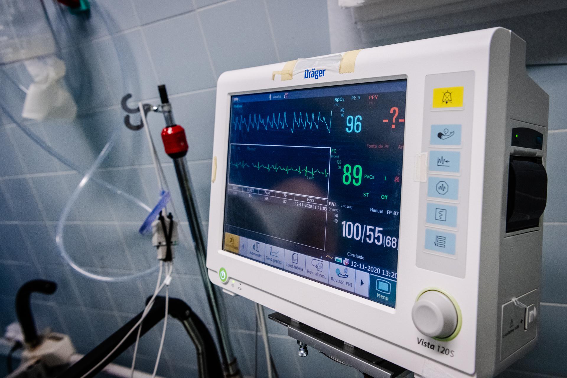covid ecrã hospital