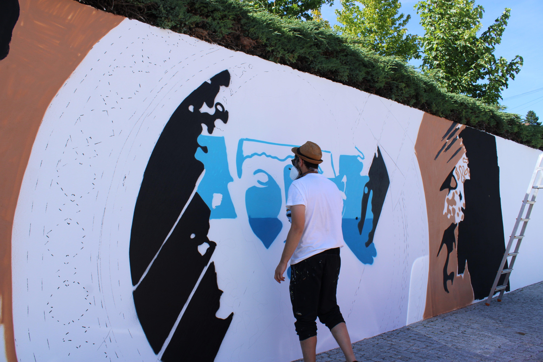 mural arte urbana alto mondego
