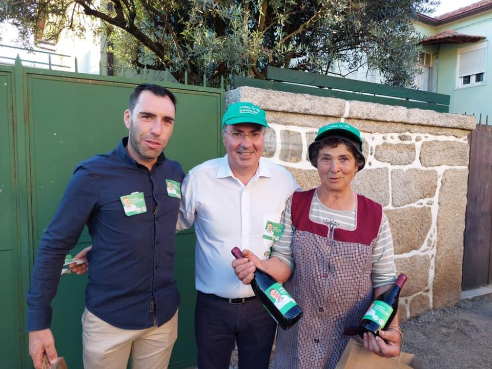 borges da silva campanha PS Nelas vinho